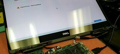 DJ58M LP156WF9 (SP)(C1) Genuine Dell Lcd 15 6 Touch Inspiron