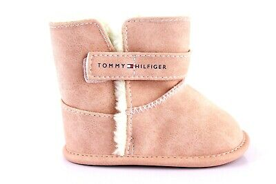 check out c7590 c8a4b TOMMY HILFIGER BABYSCHUHE Baby warme Stiefel Boot Stiefelette Schuhe Rosa  Gr. 18