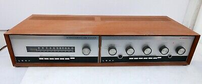 Leak Stereo 70 Amplifier + Stereofetic FM Tuner in Sleeve - Excellent Condition