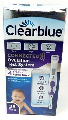 Clearblue Connected Ovulation Test Bluetooth 25 Ovulation Tests 07/2019+