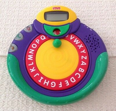 Fisher Price AlphaSpinner - Fun and Educational #77951, Hard to Find, EXCELLENT