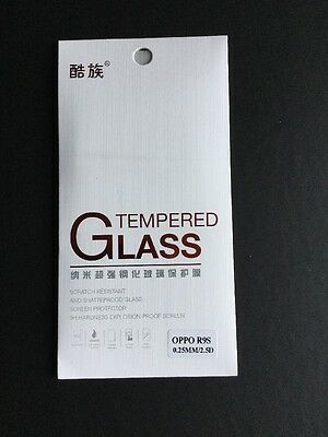 Premium Quality Ultra Clear Tempered Glass 9H Screen Protector For Oppo R9S