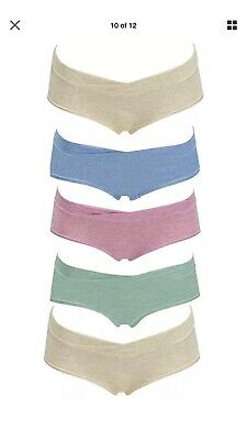 26700524b Kindred Bravely Under the Bump Maternity Hipster Underwear XX LARGE 5 Pack
