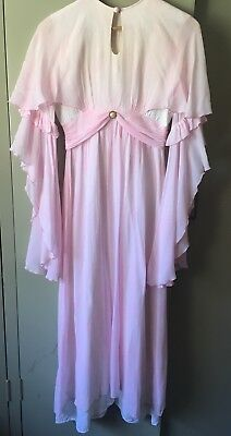 Vintage John Charles London Bell Sleeve Floaty Dress Boho