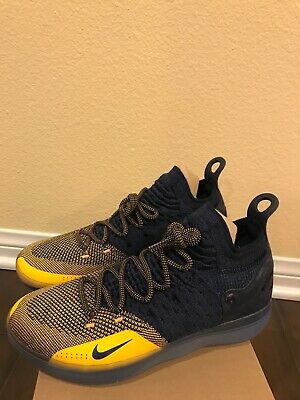 ab4f853769660 NIKE AIR ZOOM KD 11 CHINESE ZODIAC MICHIGAN AO2604 400 Basketball Mens Size  10.5