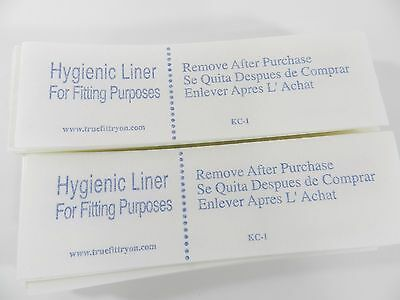 Lot of 100 Try-on Swimsuit Protective Hygienic-Hygenic Liner Adhesive Strip