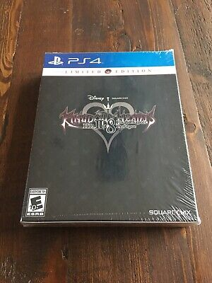 KINGDOM HEARTS HD 2.8 FINAL CHAPTER LIMITED EDITION Playstation 4 PS4 NEW SEALED