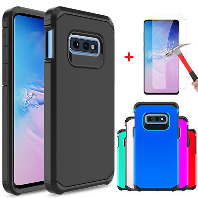 For Samsung Galaxy S10 Lite / S10e Shockproof Case Cover With Screen Protector
