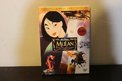 Disney Mulan Special Edition DVD 2 Disc Set 2004