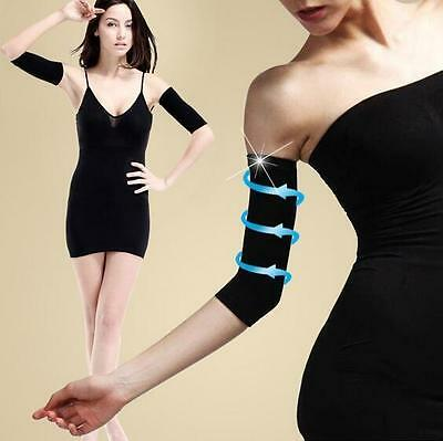 2X Fashion Ladies Slimming Weight Loss Arm Shaper Fat Buster Off Wrap Belt Band