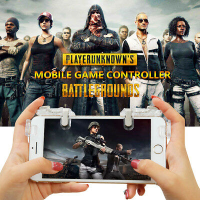 Gaming Trigger L1+R1 Mobile Phone Aiming Fire Button Shooter Controller Fr PUBG