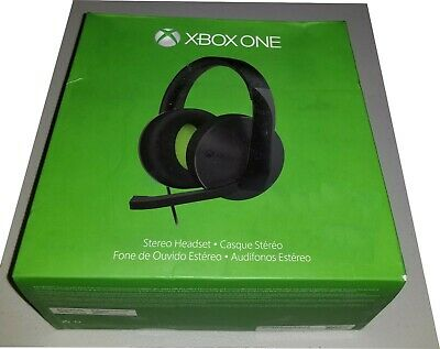 Microsoft Xbox One Stereo Black Headband Headset Only for Microsoft Xbox One