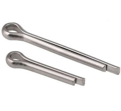 M8 M10 U-shaped A2 304 Stainless Steel Locking Split Cotter Pin / Clevis Pins