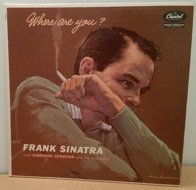 Frank Sinatra . Where Are You . I Cover the Waterfront . Capitol mono LP