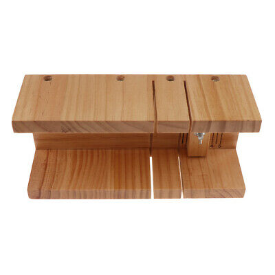 Multifunction Wood Soap Cutter Wooden Cutting Mold Loaf Soap Making Mould
