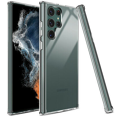 For Samsung Galaxy S10 Plus/S10/S10e Case Shockproof Clear TPU+PC Hard Cover