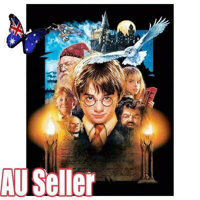 Harry Potter Full Drill 5D Diamond Painting DIY Embroidery Cross Stitch Decor VW