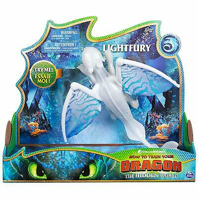 How To Train Your Dragon 3 The Hidden World Deluxe Lights & Sounds Lightfury