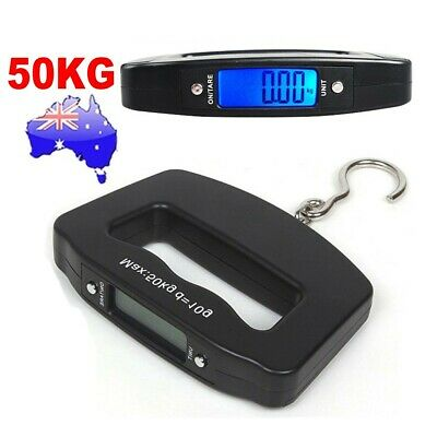 50KG 10g Electronic Portable Luggage Scale Handheld Travel Suitcase Weighing