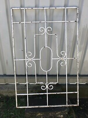 Wrought Iron Panel Security Screen Vertical Garden