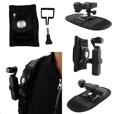 Stabilizer Backpack Clip Straps Clamp W/Bracket For DJI Osmo Pocket Gimbal Cam