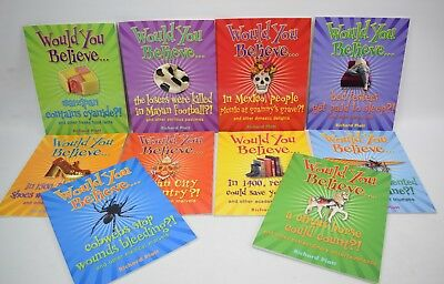 Would You Believe Books Collection Set Of 10 Childrens Books Educational
