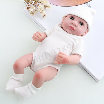 Handmade Reborn Lifelike Baby Boy Real Looking Newborn Vinyl Silicone Doll