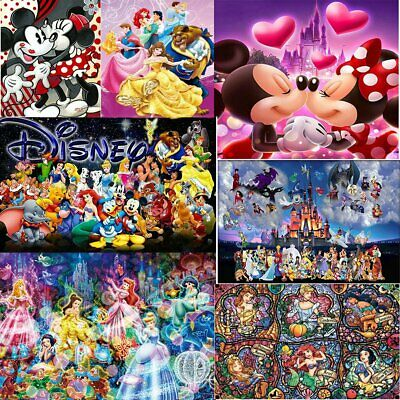 Disney Full Drill DIY 5D Diamond Painting Embroidery Cross Stitch 2019 Hot