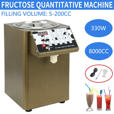 330W 110V Bubble Tea Equipment Fructose Quantitative Machine Fructose Dispenser