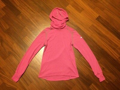 ODLO - Maglia Cappuccio Donna/Women's Hooded Shirt Alpine Running Outdoor Travel