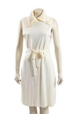 NEW Calvin Klein -Size 14 - Ivory Belted Sweaterdress-RRP:$199.00
