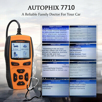 AUTOPHIX Ford Handy Vehicle Detector 7710 FD Vehicles Support Online Update