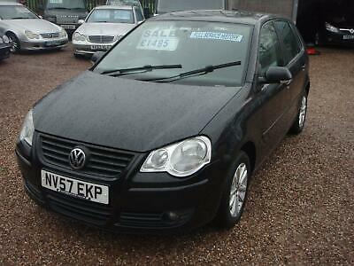 VOLKSWAGEN POLO - Black Manual Petrol, 2007