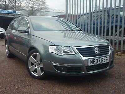 VOLKSWAGEN PASSAT TDi 140 Sport 2007 Diesel Manual in Green