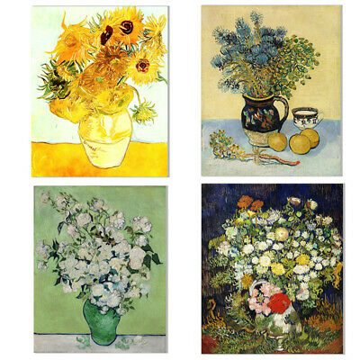 Vincent Van Gogh Folwer Canvas Oil Painting Print Poster Picture Home Wall Decor