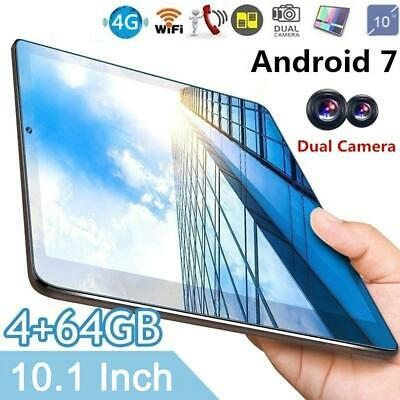 """10"""" Inch Android Tablet 4+64GB Octa Core Dual Camera Bluetooth Wifi Tablet"""