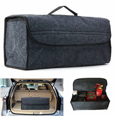 Trunk Organizer Foldable Car Auto Storage Bag Collapsible Cargo Box Container