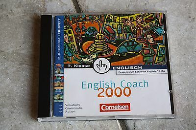 Und Grammatiktraining*5.klasse English Coach 2000*cornelsen*vokal Software