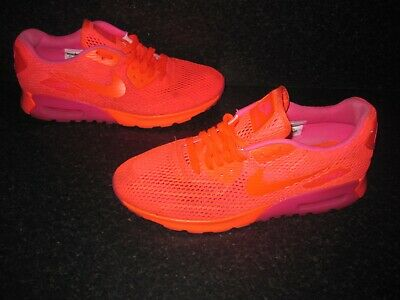 NIKE AIR MAX ladies trainers, pink and peachyorangey colour UK 8 EUR 42.5