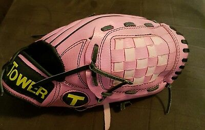 """TOWER • 5T5 Pro • T55ST Pink 9"""" Glove - Right Hand Throw - FREE SHIPPING!"""