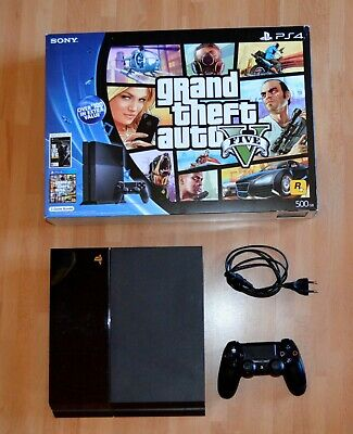 Sony Playstation 4 | PS4 | 500 GB | CUH-1115A B01 | Schwarz
