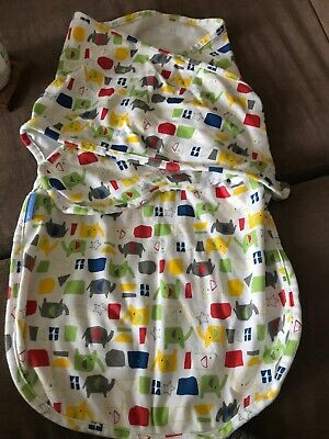 Gro Swaddle - Elephant Print. New Without Tags