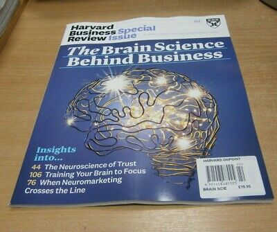 Harvard Business Review magazine Special Issue JAN 2019 Brain Science behind