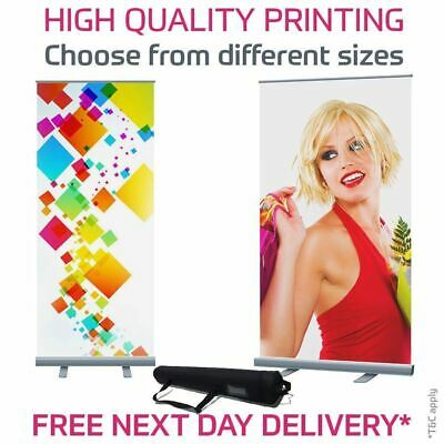 Roller Banner Pop Up / Roll Up / Pull Up Exhibition, Display Stand (Grey Back)