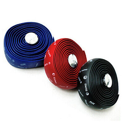2pcs Handlebar Tape Bicycle Road Bike Sports Bicycle Handlebar Wrap Tape Plug