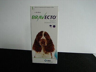 Braveto Flea Preventative Chewable for Dogs 22-44 lbs ship from USA ECTO