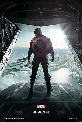 Captain America The Winter Soldier 2014 Movie Poster (24x36) - Avengers, Marvel