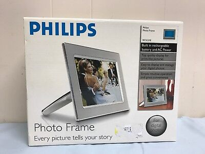 "Philips 9"" Digital Metal Photo Frame 9FF2CME Brand New Sealed"
