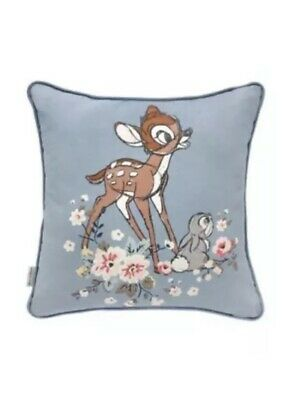 Sold Out! Cath Kidston X Bambi Cushion 40 X 40cm Disney Childs