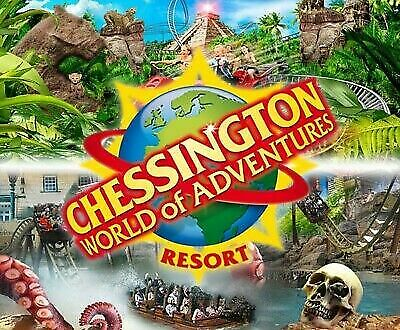 2 X Tickets to Chessington World of Adventures Wednesday 04th Sep